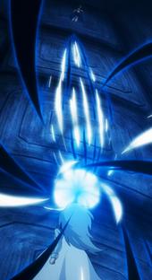 Rogue (Futuro) ataca a Natsu