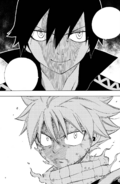 The final Natsu vs. Zeref