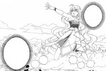 Mavis usa sua Magia