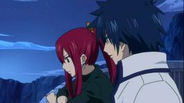 Erza y Gray Hablando Sobre el Amor