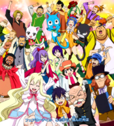 Fairy Tail cheering squad