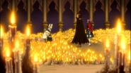 Gildarts and Laki confronts the Archbishop