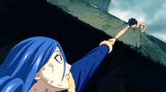 Gray saves Juvia