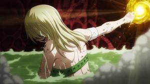 Lucy summons her third spirit