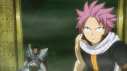 Natsu and Arcadios ready themselves