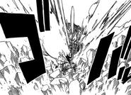 Etherious Form Jackal strikes Natsu