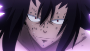 Gajeel's last words to Levy