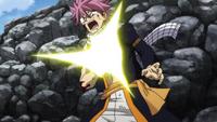 Natsu's reaction to his book's damage