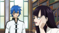 Ultear and Siegrain discuss Natsu