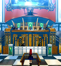 Erza stands before the Council