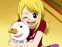 Lucy and Plue