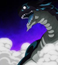 Acnologia emerges from the rift