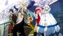 Equipo de Sabertooth Anime