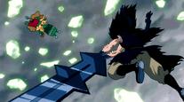 Gajeel derrota a Guttman
