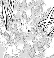 Invel freezes Natsu's flames