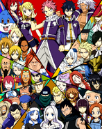 Grand Magic Games Team Poster