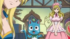 Happy animando a Lucy
