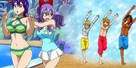 Laki salva a Kinana de Hibiki Ren y Eve