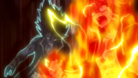 Natsu and Gajeel activate their modes