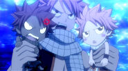 Natsu and his Mini-Me's