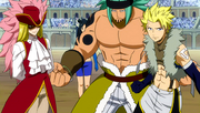 Sting, Orga and Rufus defend Minerva