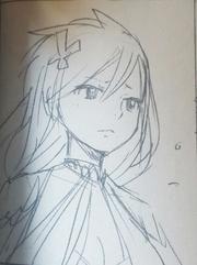 Boceto original de Sonya