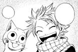 Natsu and New Born Happy