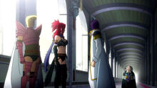 Byro complains to Erza about her fail attempt to capture Fairy Tail