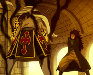 Shadow Rogue vs. Gajeel