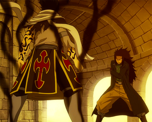 Shadow Rogue vs. Gajeel