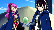 Ultear and Meredy notice the magic
