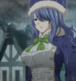 Juvia waiting for Gray