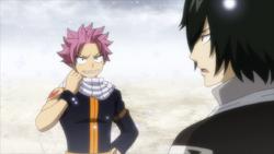 Natsu habla de su bufanda