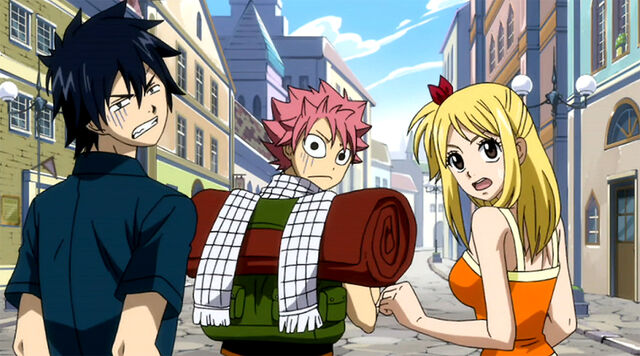 File:Gray Natsu and Lucy's reaction to punishment.JPG