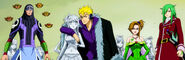 Laxus and his tribe appears