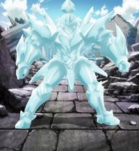 Invel's ice armor
