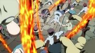 Natsu atakuje magów Phantom'a