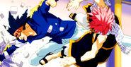 Natsu vs Vanish Brothers 4