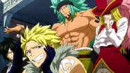 Team Sabertooth laughing