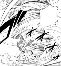 Wendy ataca a Skullion