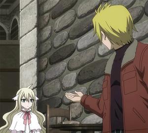 Yuri proposes a game to Mavis