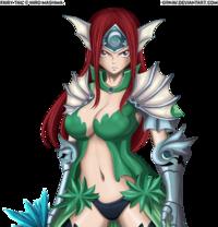 Erza Sea Empress Fanart