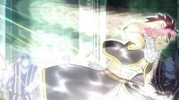 Natsu's Magic is drained