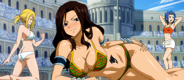 Cana, Lucy and Levy on the contest