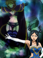 Minerva and captured Millianna