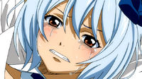 Yukino's tears after being defeated