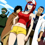 Erza running clothes