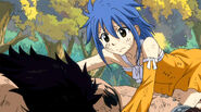 Levy finds Gajeel