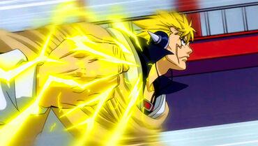 Laxus' Lighting Fist