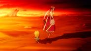 Momon follows Eclair